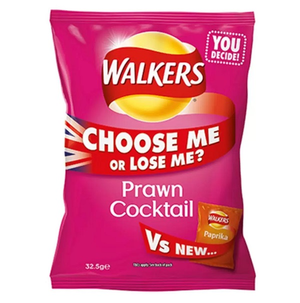 Prawn Cocktail Flavoured Crisps