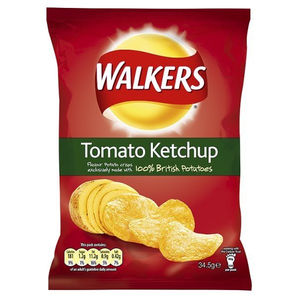 Tomato Ketchup Flavoured Crisps