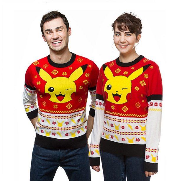 Pokemon Pikachu Holiday Sweater