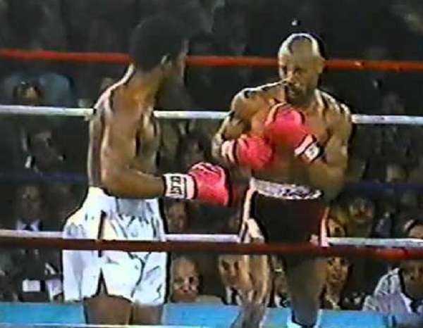 Marvin Hagler VS Caveman Lee