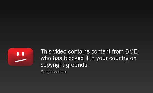Access to blocked YouTube content