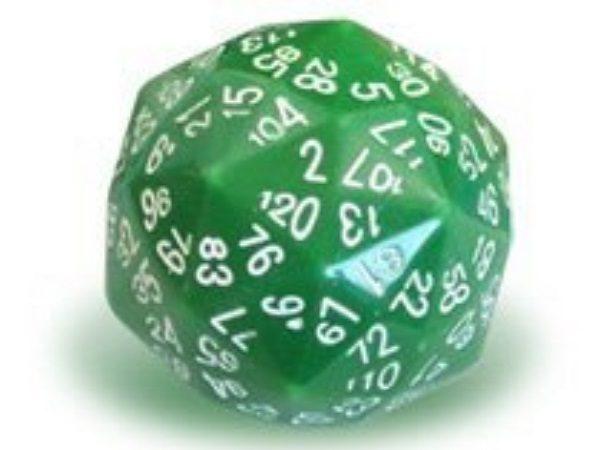 A Disdyakis triacontahedron Dice