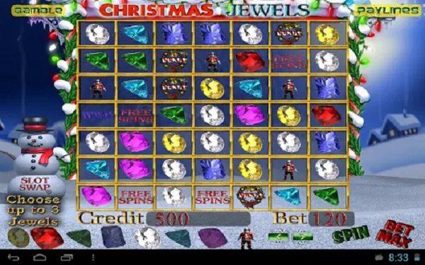 Christmas Jewels Slot Machine