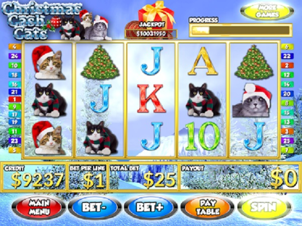 Christmas Cash Cats