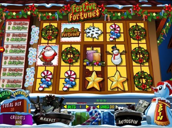 Festive Fortunes - Slot Game