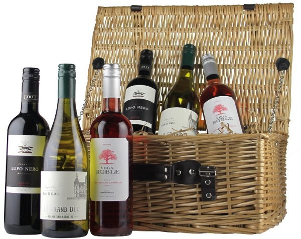 6 bottle Wine Hamper