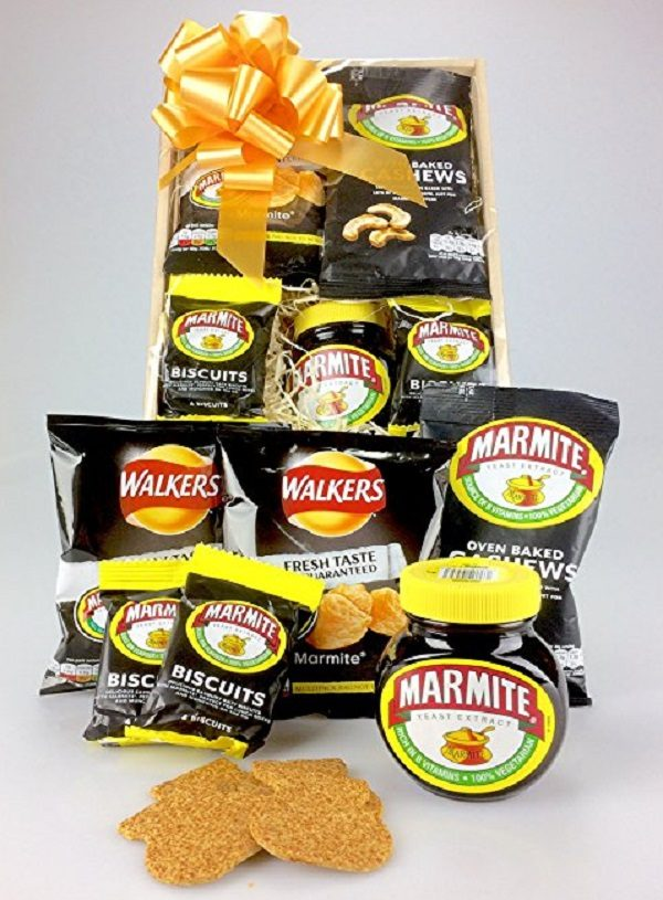 Love it or hate it MARMITE gift wrapped Hamper