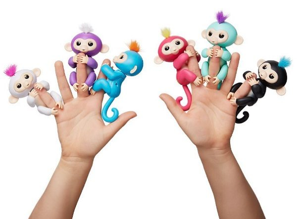 WowWee's Fingerlings Pet Baby Monkeys