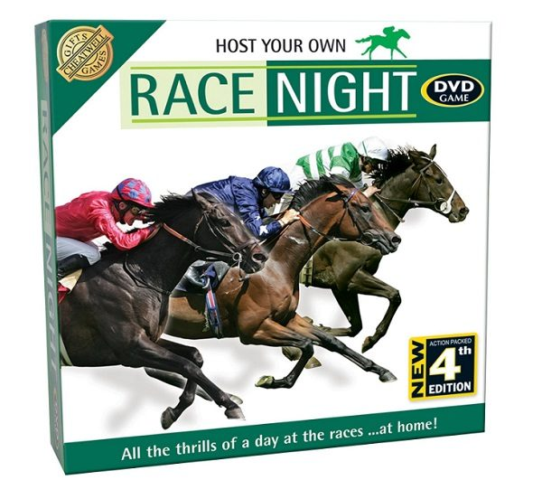 Host Your Own Race Night DVD Game