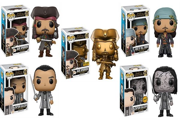 Pirates of the Caribbean Funko Pop! Character Figures