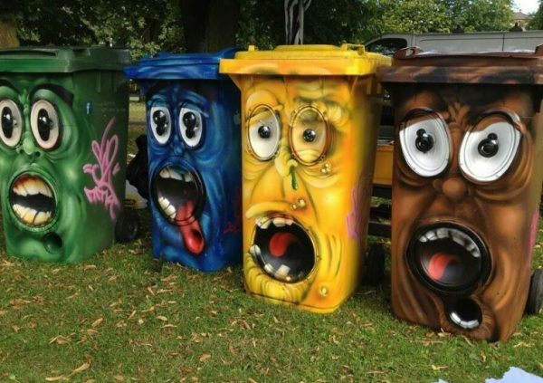 Wheelie Bin Monsters