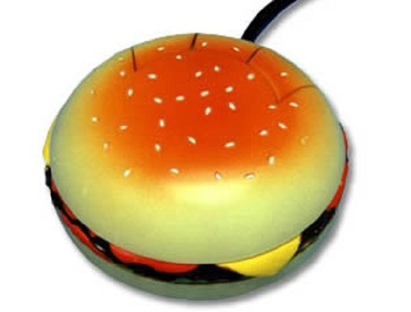 Burger Laptop or PC Mouse