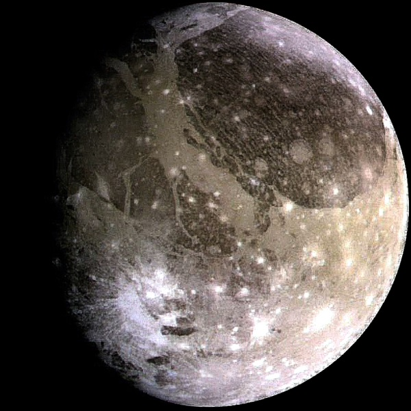 Ganymede - Estimated Radius: 2,634 km