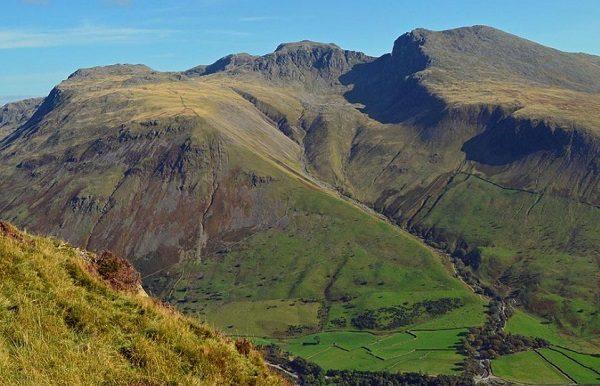 Scafell Pike Mountain, England