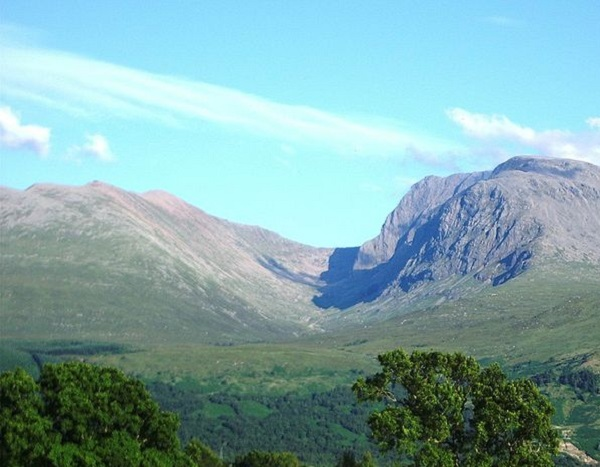 Ben Nevis Mountain in Scotland