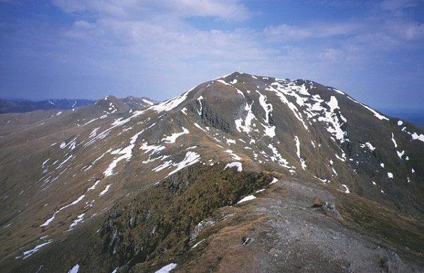 Ben Lawers Mountain in Scotland