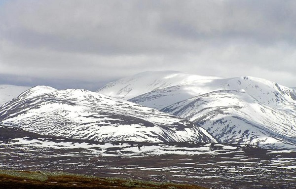 Ben Macdui Mountain in Scotland