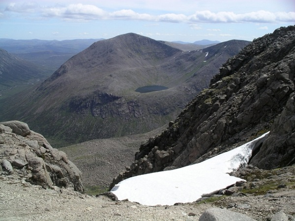 Cairn Toul Mountain in Scotland