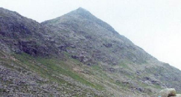 Sgòr an Lochain Uaine Mountain in Scotland