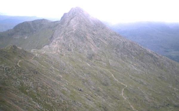Y Lliwedd Mountain, Wales