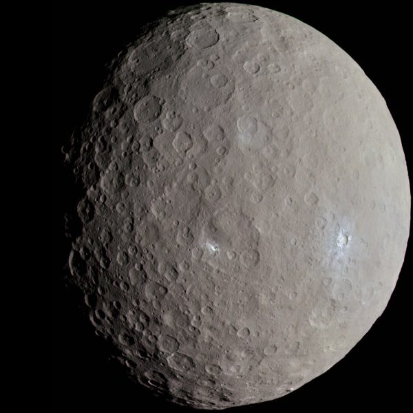 Ceres Exceptional Asteroid