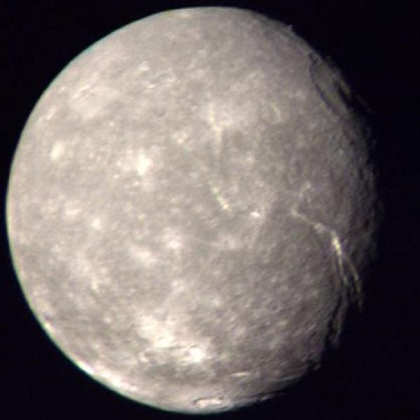 Titania, Uranus
