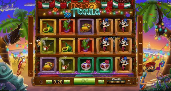 Play Now: Tequila Fiesta