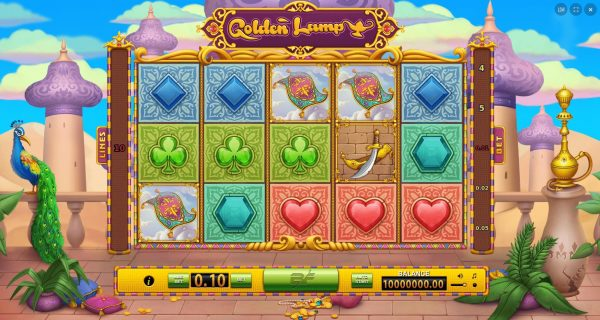 Play Now: Golden Lamp