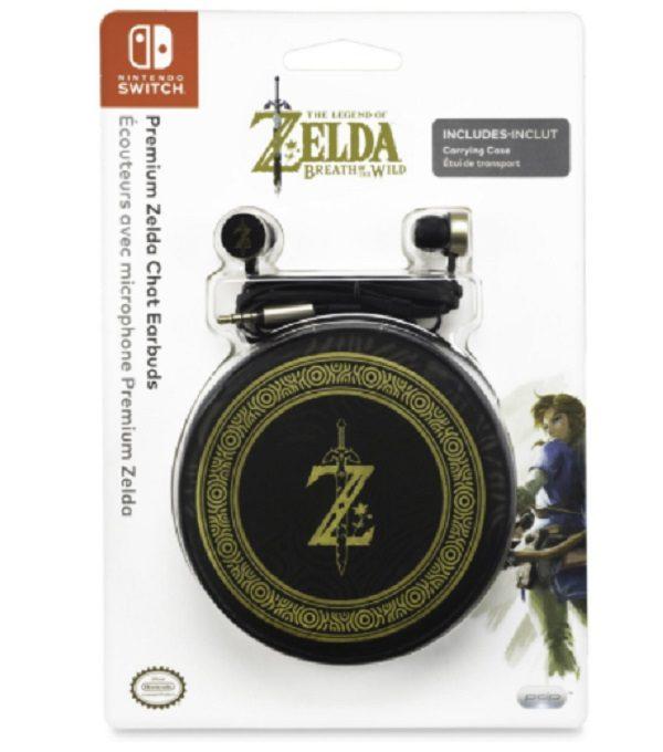 Legend of Zelda: Breath of the Wild Premium Chat Earbuds