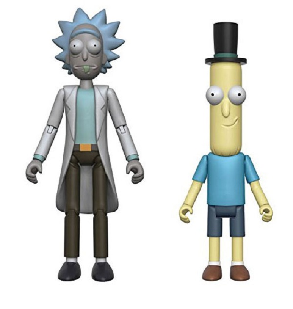 "Rick and Morty 5"" Action Figures"
