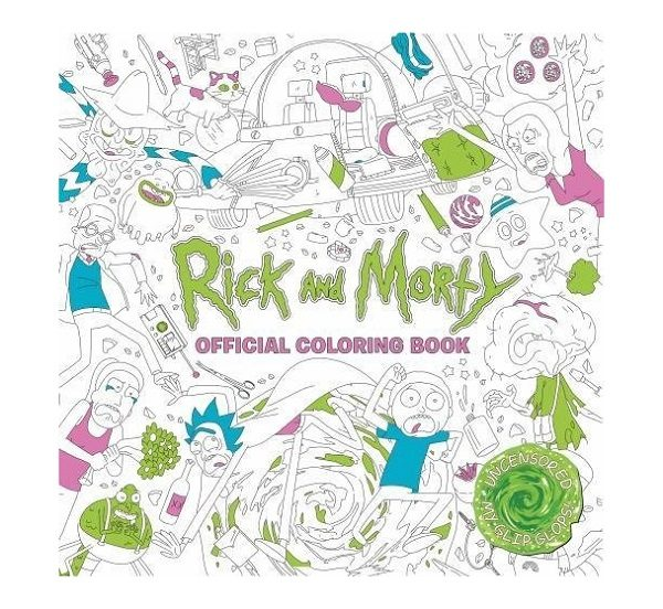 Official Rick and Morty Coloring Book