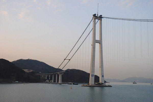 Yi Sun-sin Bridge in South Korea