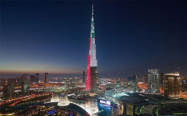 Burj Khalifa in UAE