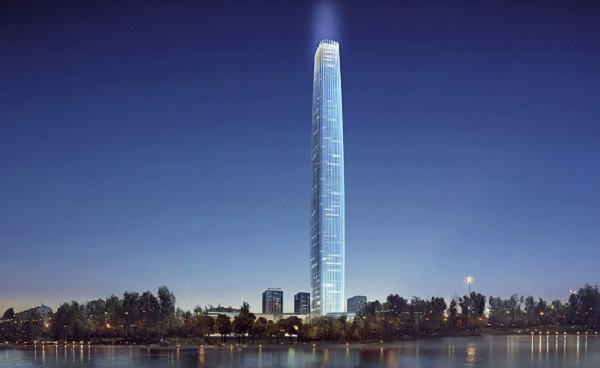 Changchun World Trade Center in China