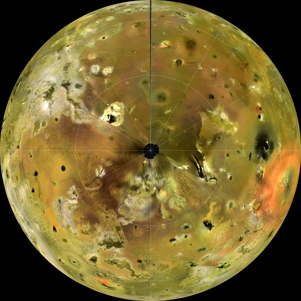 Euboea Montes Peak, Io