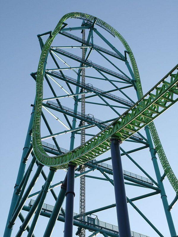 Kingda Ka in Six Flags Great Adventure, United States