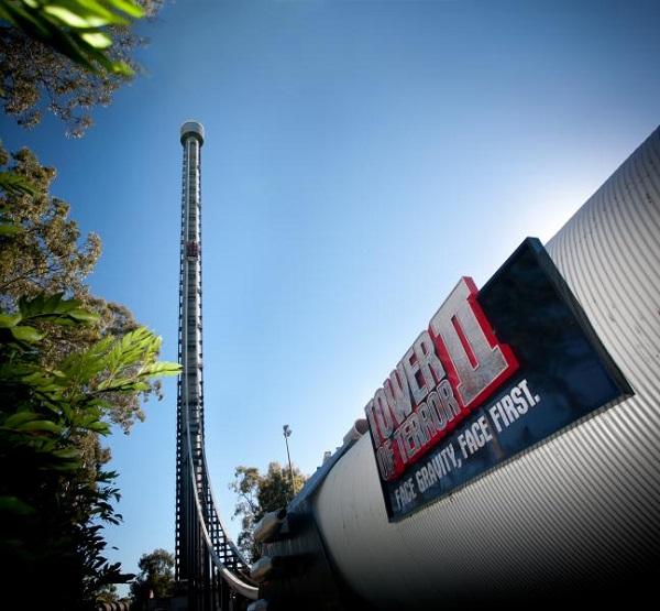 Tower of Terror II in Dreamworld, Australia