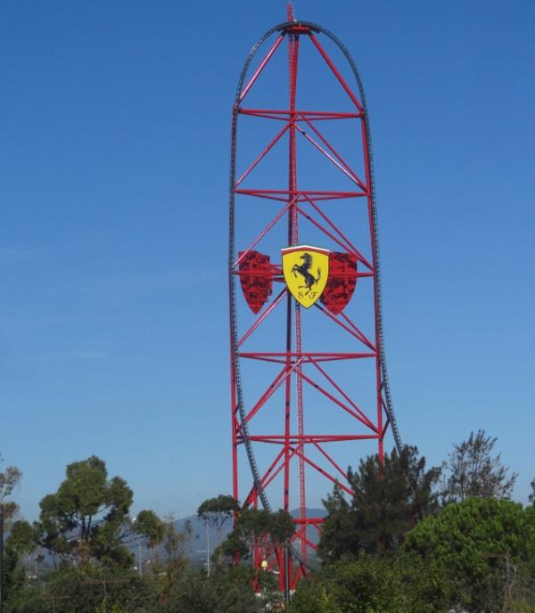 Red Force in Ferrari Land, Spain