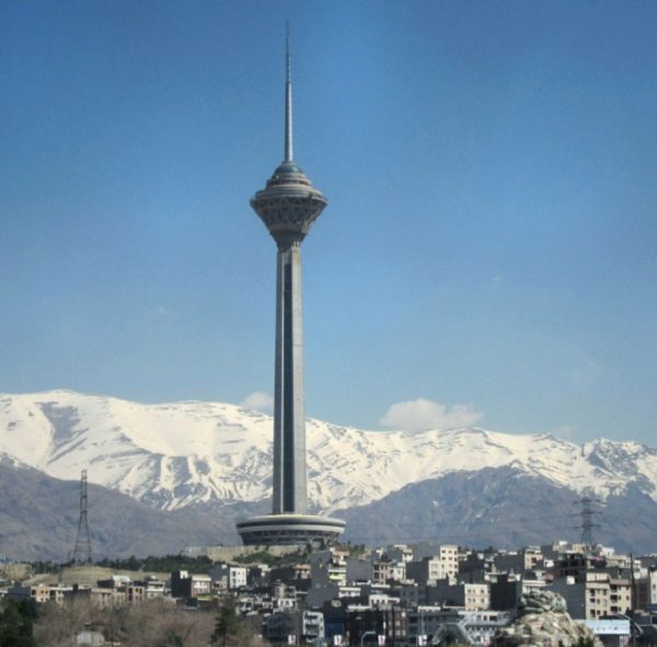 Milad Tower in Iran