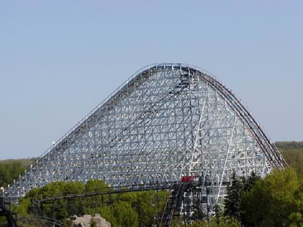American Eagle in Six Flags Great America, United States