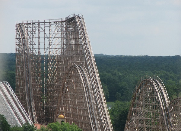 El Toro in Six Flags Great Adventure, United States