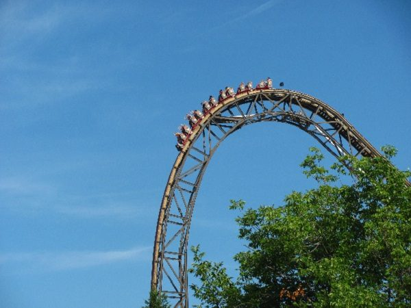 Goliath in Six Flags Great America, United States