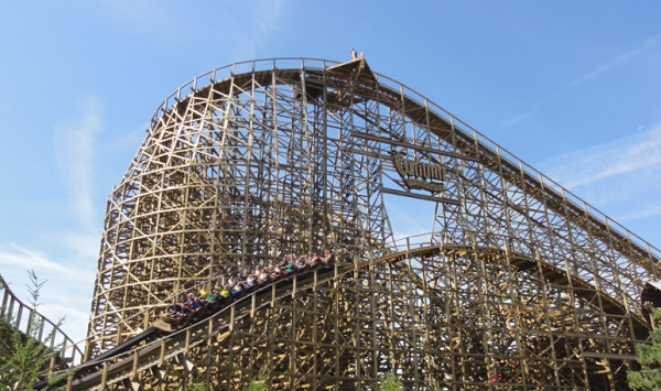 Wodan Timbur Coaster in Europa-Park, Germany