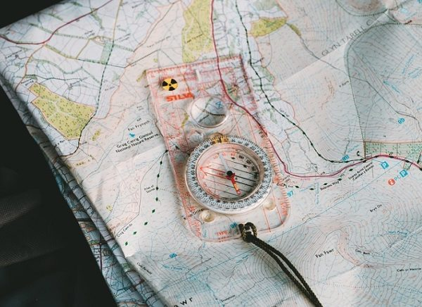 Have a Paper Map with Your Route