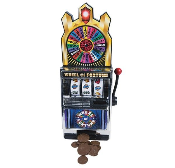 Miniature Wheel Of Fortune Slot Machine