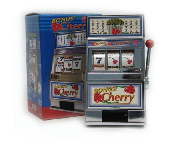 Miniature Bonus Cherry Slot Machine