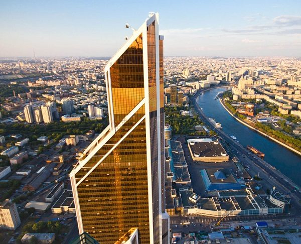 Mercury City Tower in Russia