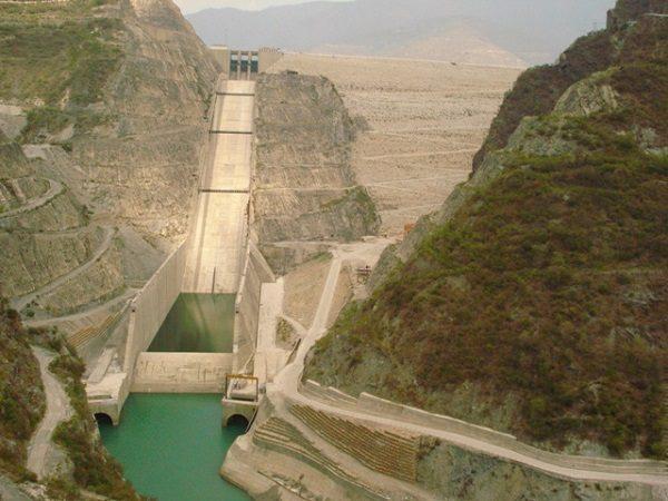 Tehri Dam in India