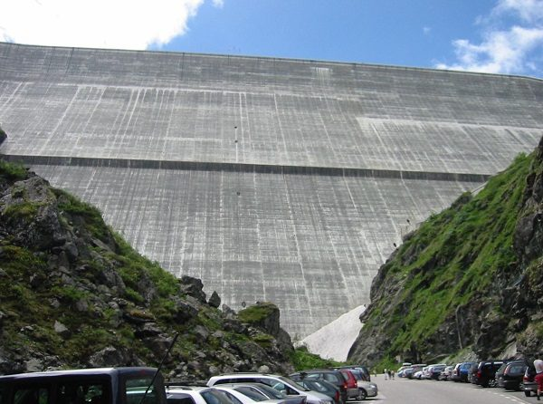 Grande Dixence Dam in Switzerland
