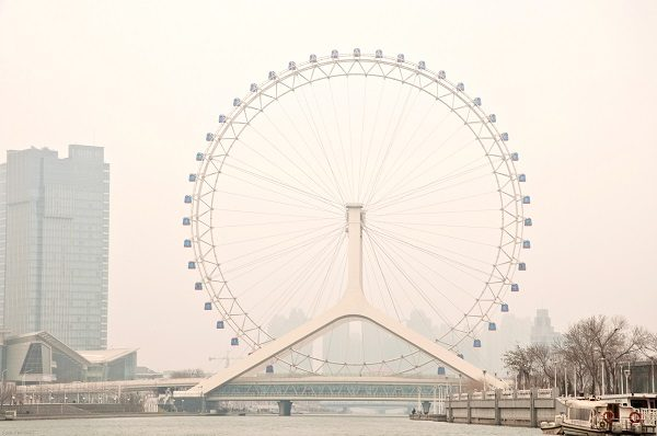 The Tianjin Eye, China